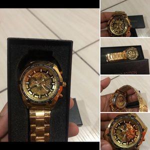 Luxury Mechanical Business Style Watch